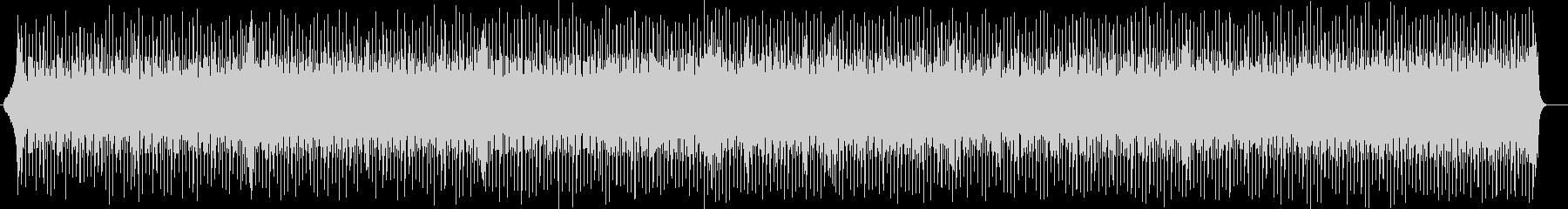 スタイリッシュなデジタルサウンドの未再生の波形