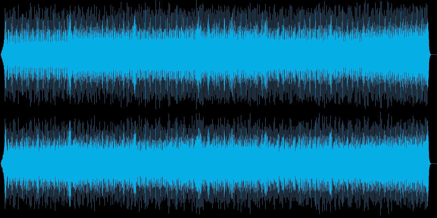 スタイリッシュなデジタルサウンドの再生済みの波形