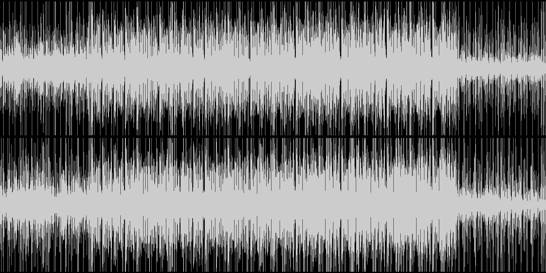 オープニング、トーク用BGM(ループ)の未再生の波形
