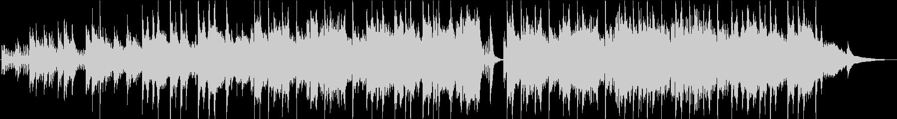 PV】エレガントと感動を併せ持つピアノの未再生の波形