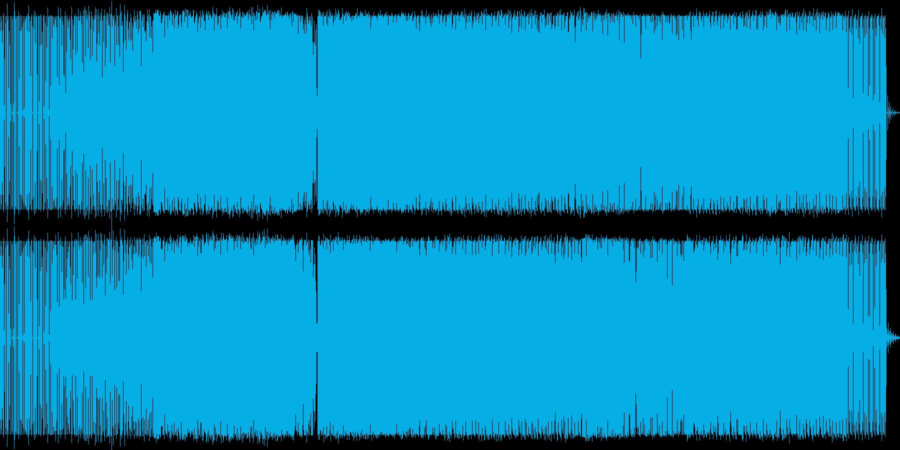 テクノ アングラ ミュージックの再生済みの波形