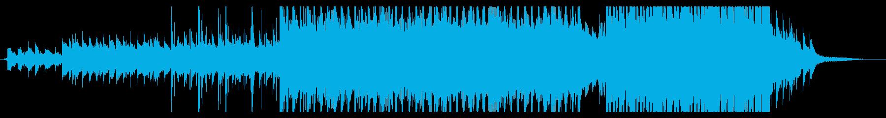 オープニング 幻想的 機械 ファンタジーの再生済みの波形