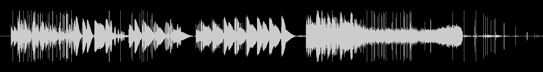 研削スクラッチの未再生の波形