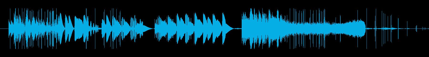 研削スクラッチの再生済みの波形