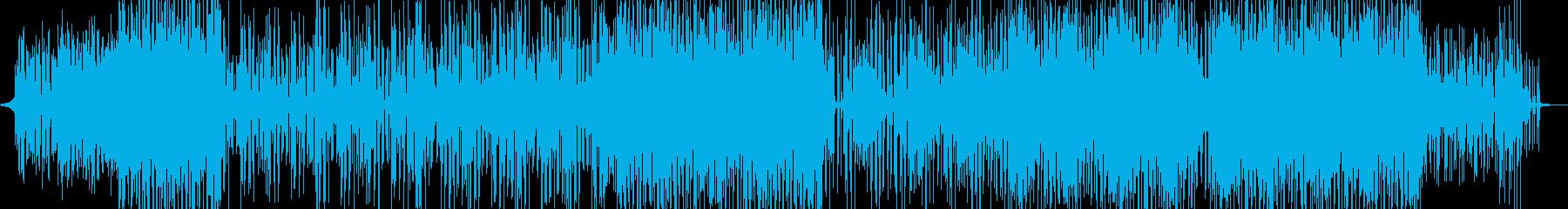 ゆるく賑やか・コミカルなレゲェ 短尺の再生済みの波形