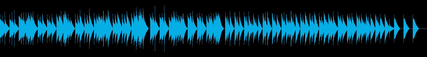 2. オーセの死 (オルゴール)の再生済みの波形