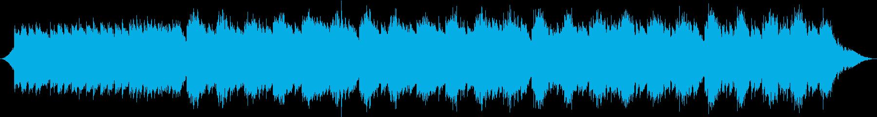 水の音が放つ1/fゆらぎの再生済みの波形