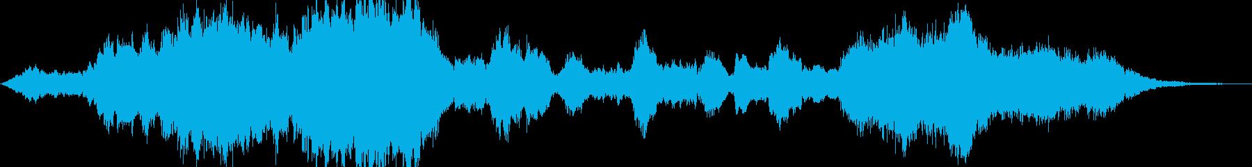 壮大でファンタジーな雰囲気のクラシックの再生済みの波形