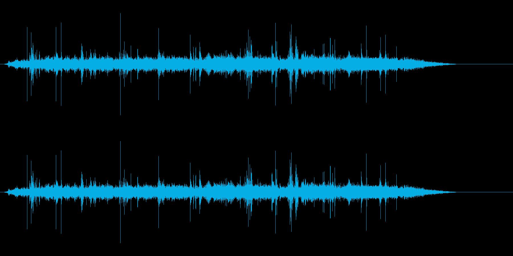 背景音 ホラー10の再生済みの波形