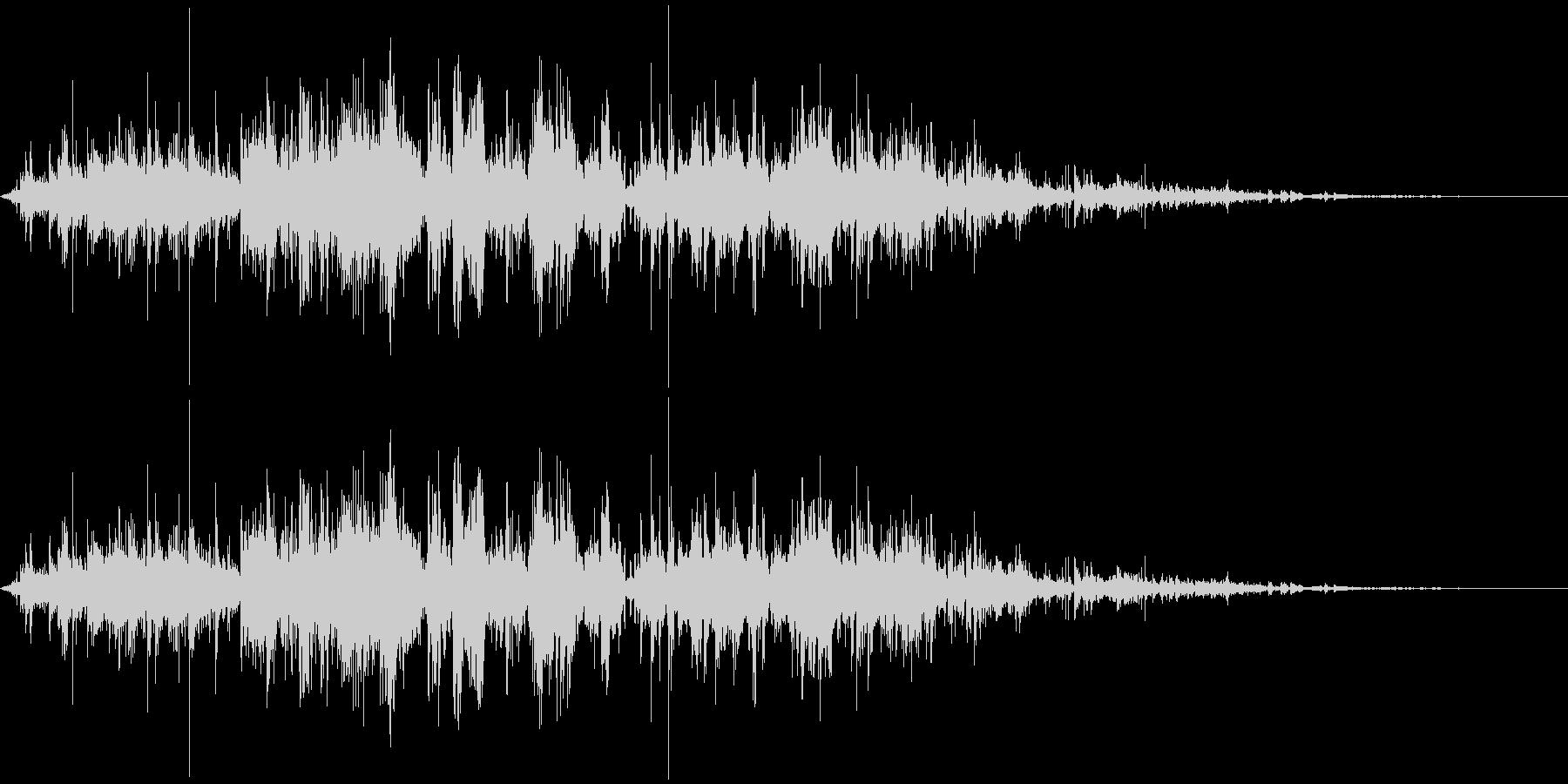 鎖を動かす音2【長い】の未再生の波形
