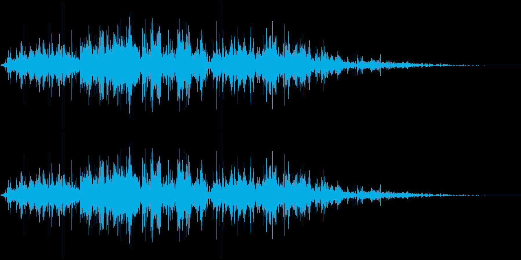 鎖を動かす音2【長い】の再生済みの波形