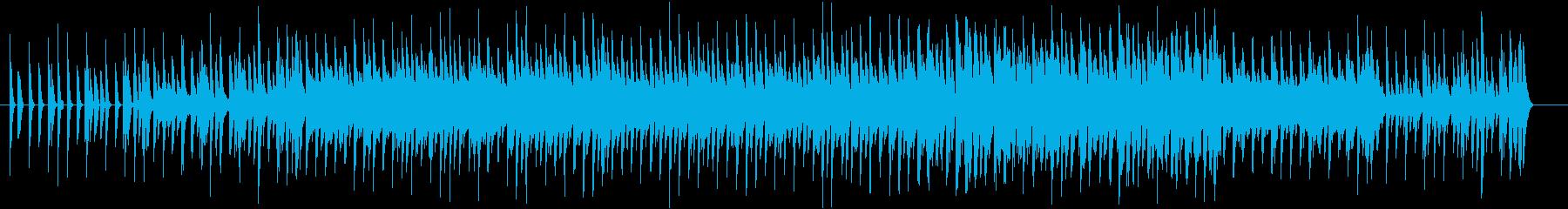 アンダーグラウンドな感じを目指しましたの再生済みの波形