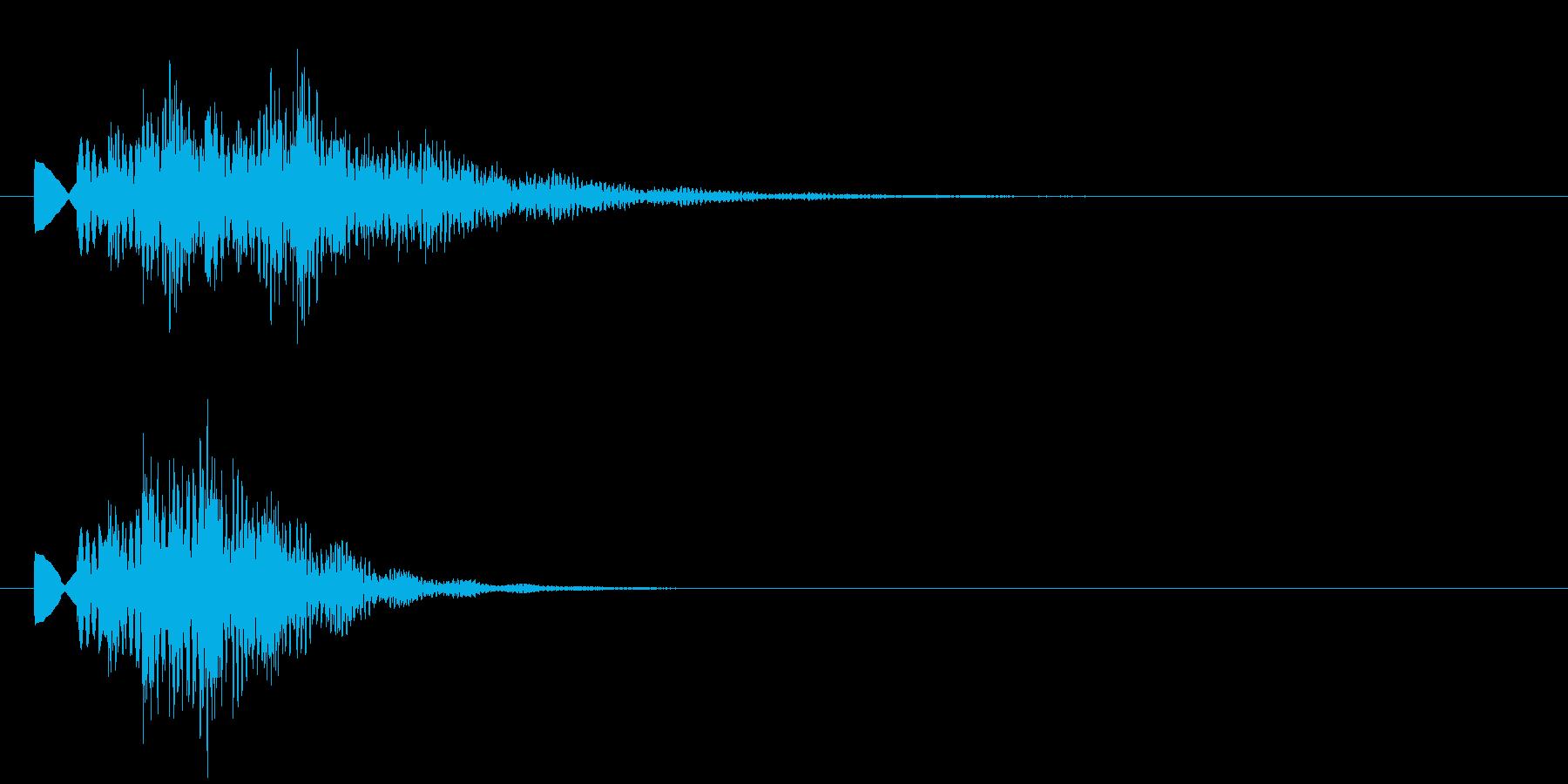 タラン2 情報SE発見音 明るすぎずの再生済みの波形