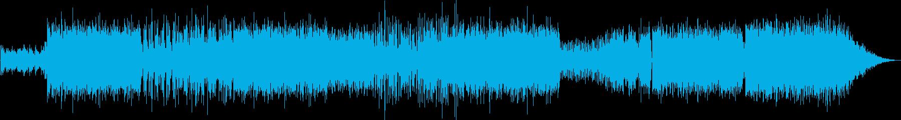 キラキラしたサウンドでサンバなポップスの再生済みの波形