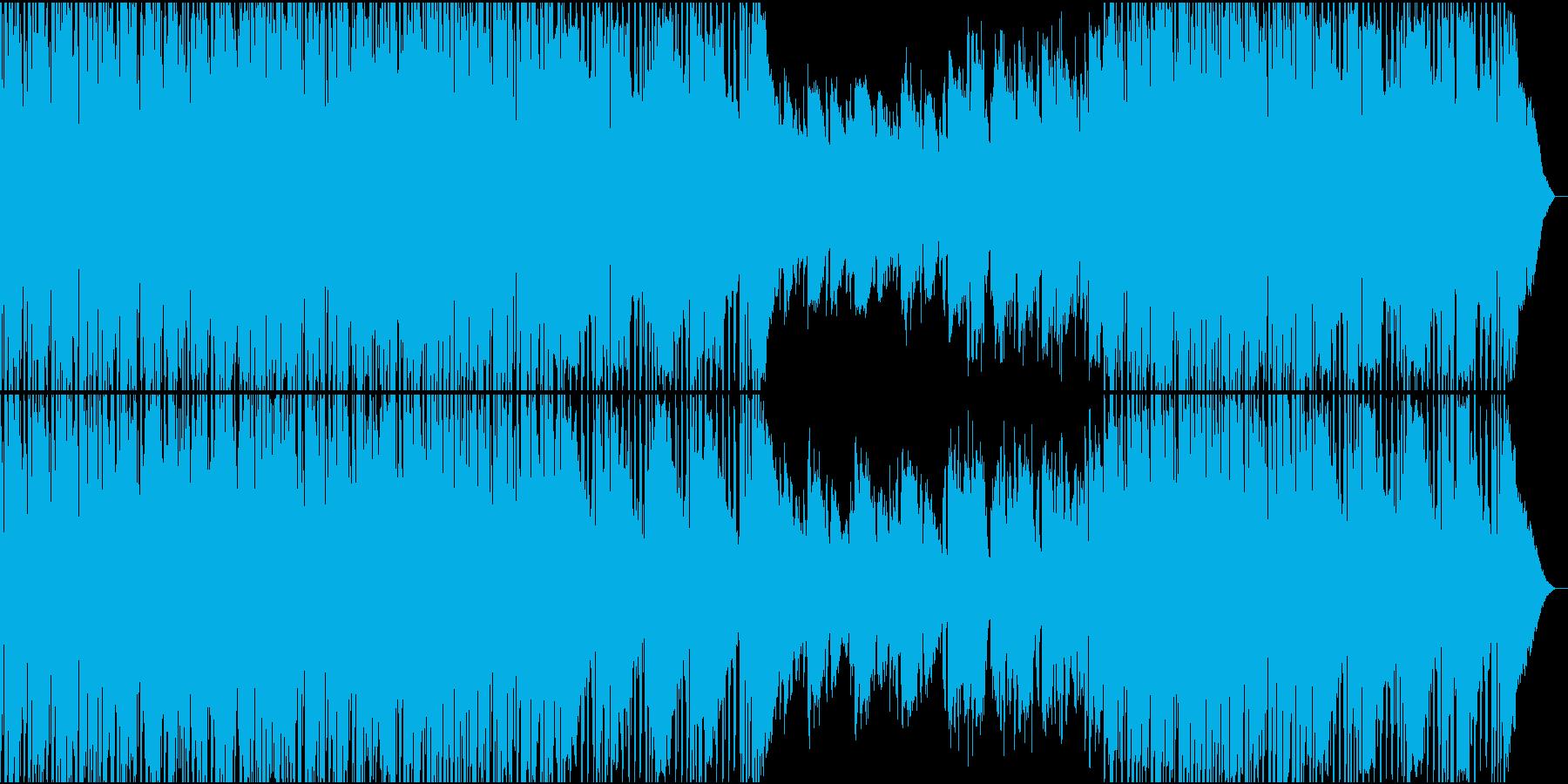 雨上がりの情景の再生済みの波形