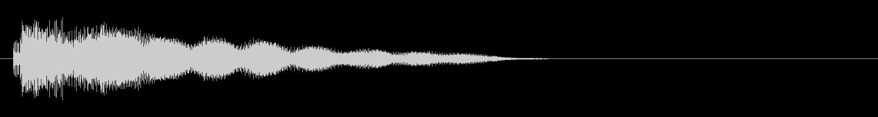 中華4 ノーマルカード入手 正解の未再生の波形