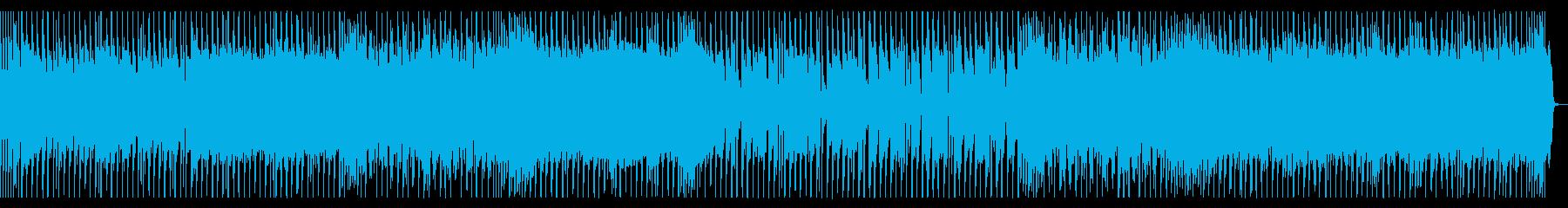 ワクワクした気持ちが溢れるロック_2の再生済みの波形