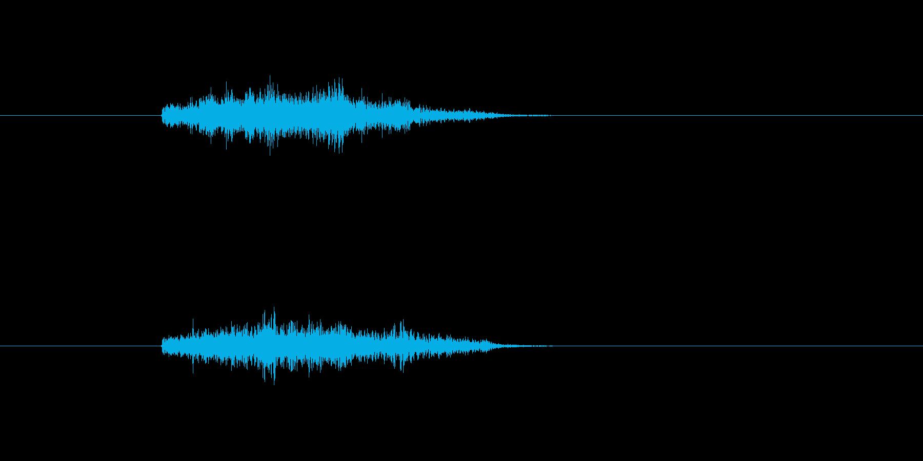 シュワーン ワープ 瞬間移動 ダッシュの再生済みの波形