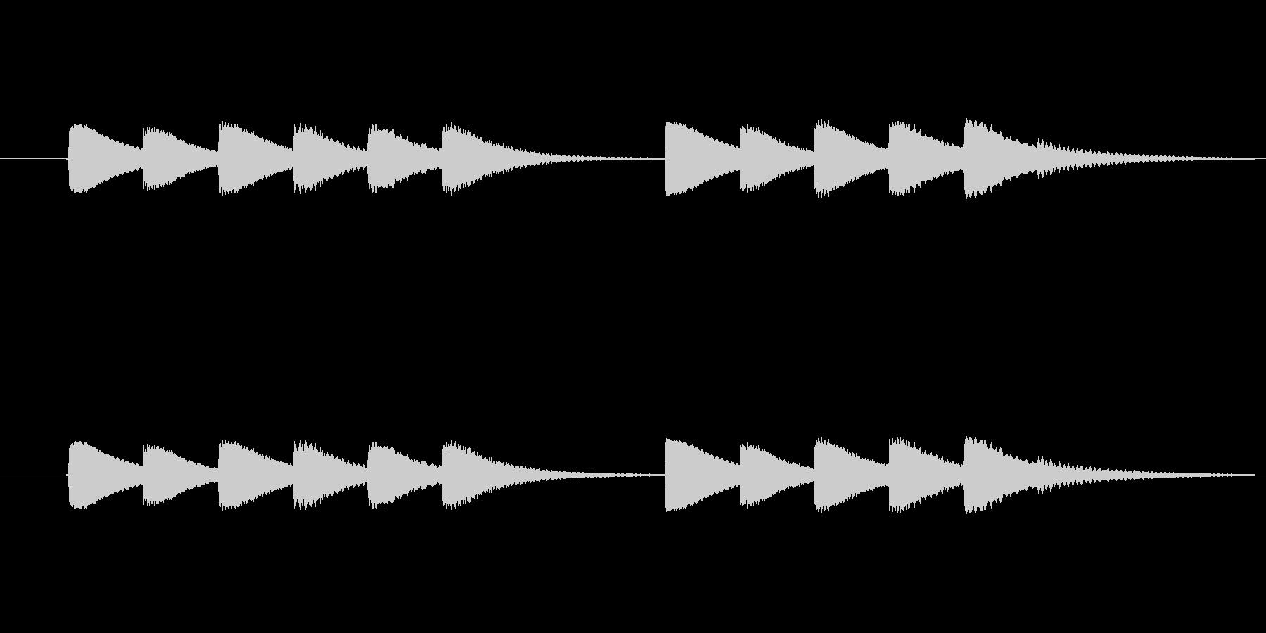 vibraphone と celest…の未再生の波形