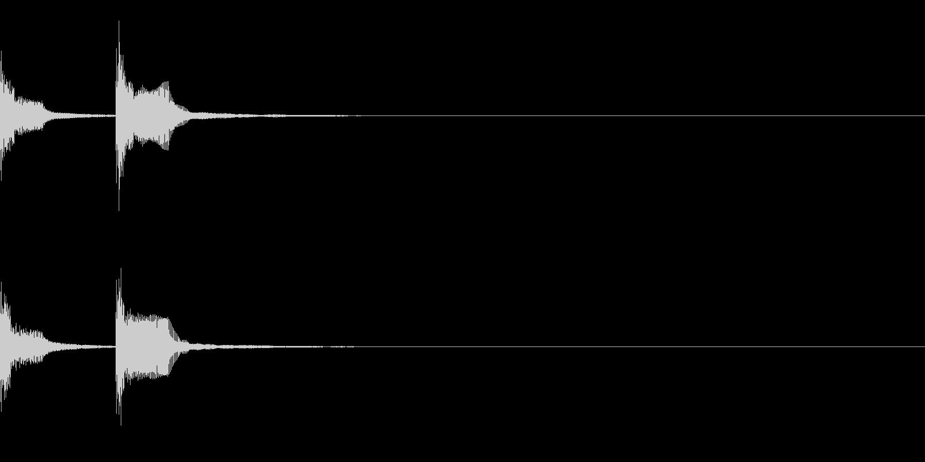 チャンチャン(失敗、台無し)A04の未再生の波形