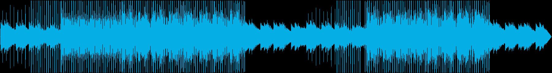 ソフトシンセによるダンスミュージックの再生済みの波形