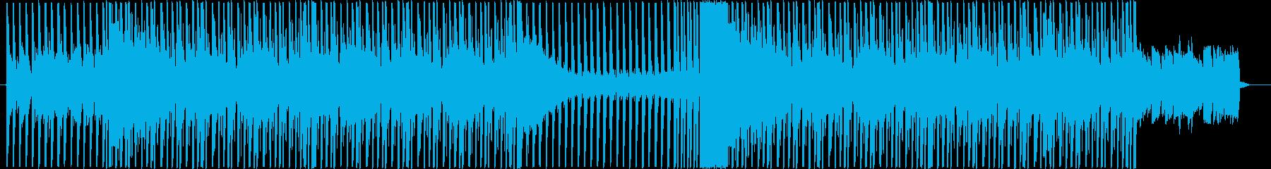 怪しく奇抜な雰囲気のエレクトロの再生済みの波形