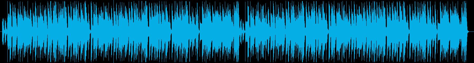 ほのぼの楽しいPopな曲の再生済みの波形
