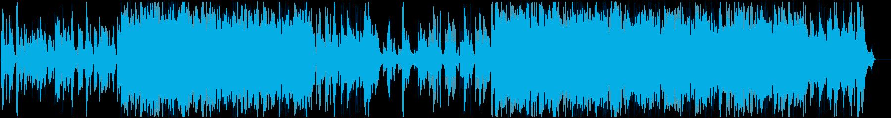 ゆったり可愛いエレクトロニカポップの再生済みの波形
