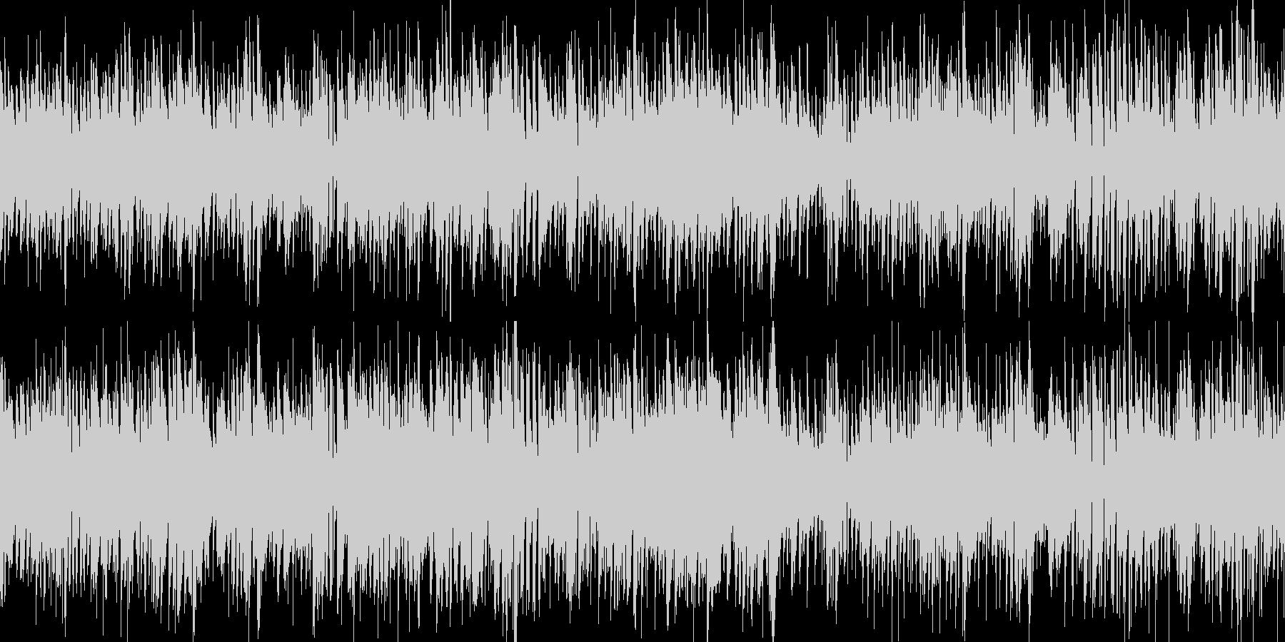 お洒落なジャズピアノ&ギター ループの未再生の波形