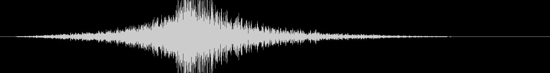 ビッグインパクトエクスプロージョン2の未再生の波形