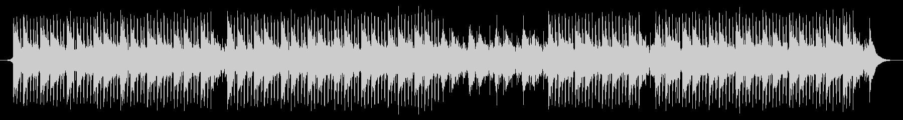 科学音楽の未再生の波形