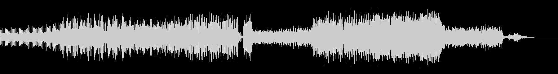ダイジェスト映像に最適なBGMの未再生の波形