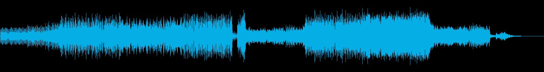 ダイジェスト映像に最適なBGMの再生済みの波形