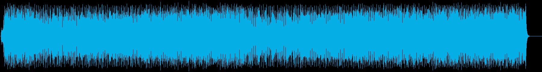 晴れやかな気分にするイージーリスニングの再生済みの波形