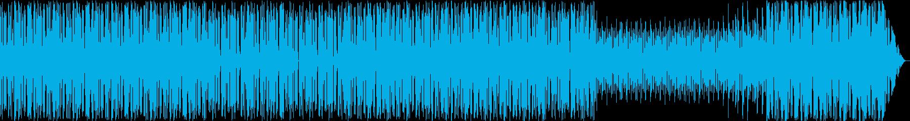 不安と幻聴幻覚と切ない想い出のループ風の再生済みの波形