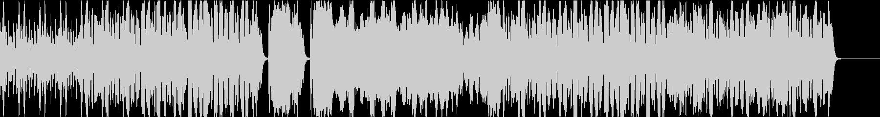 弦楽四重奏の軽快でコミカルなBGMの未再生の波形