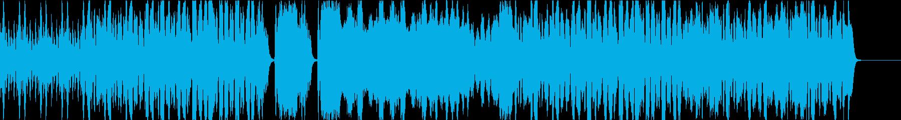 弦楽四重奏の軽快でコミカルなBGMの再生済みの波形