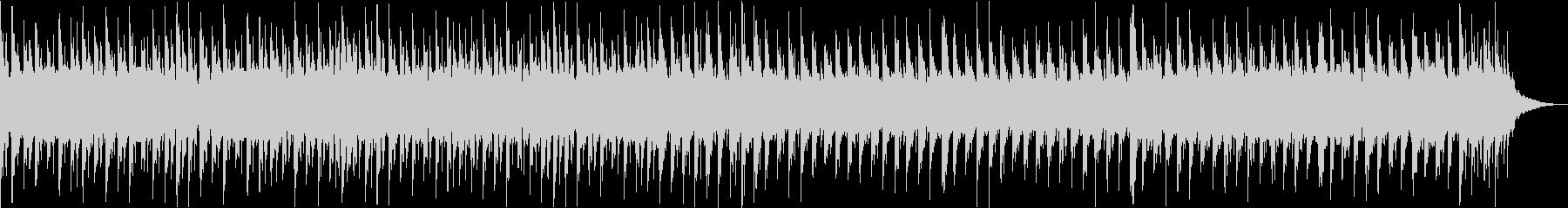 三味線/テクノ/アップテンポ(1分)の未再生の波形