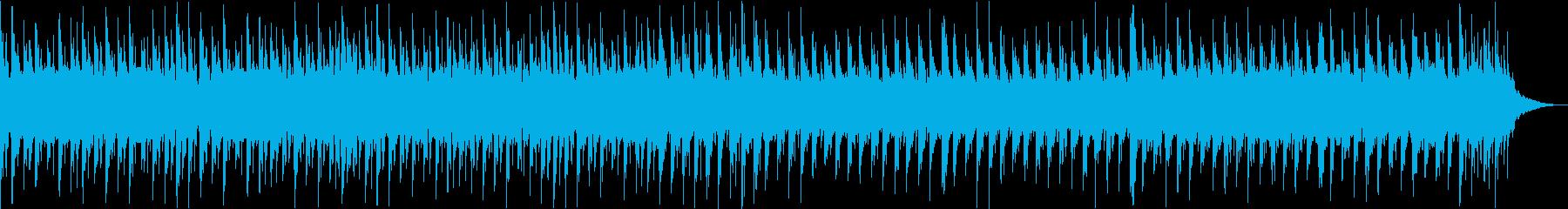和風の三味線エレクトロの再生済みの波形