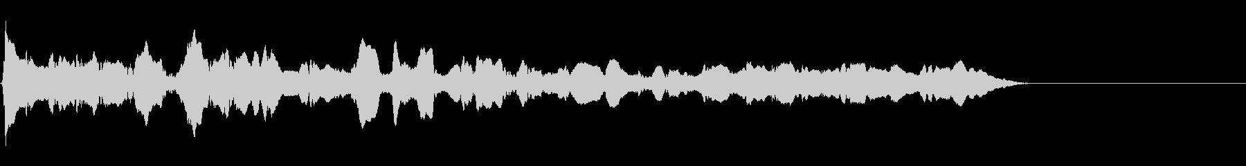 トーンヴァイオリングリスダウンwavの未再生の波形