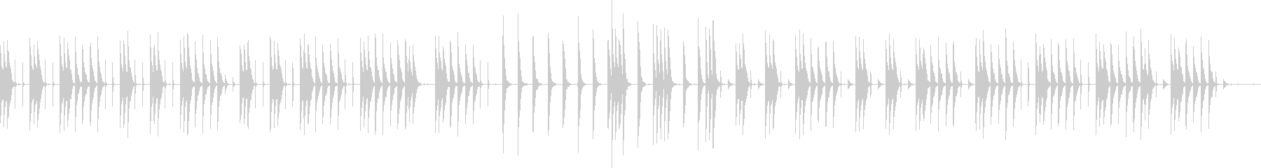 ほのぼのとゆったりとしたBGMです。の未再生の波形