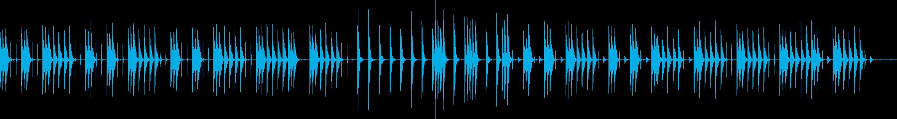 ほのぼのとゆったりとしたBGMです。の再生済みの波形