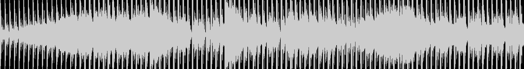 シネマチックで近未来的 EDM ループの未再生の波形