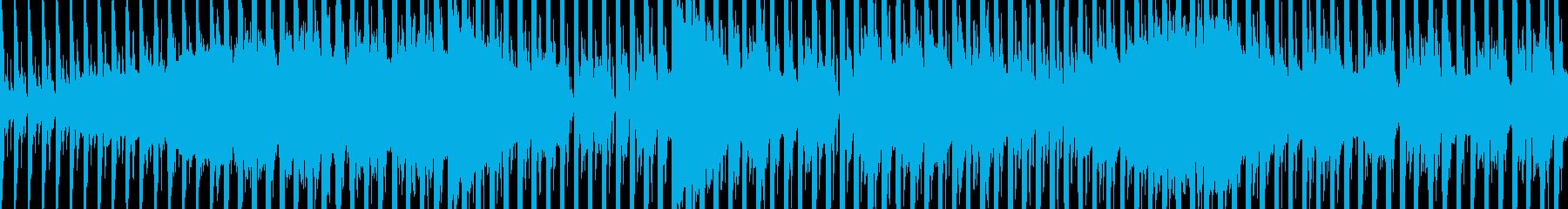 シネマチックで近未来的 EDM ループの再生済みの波形