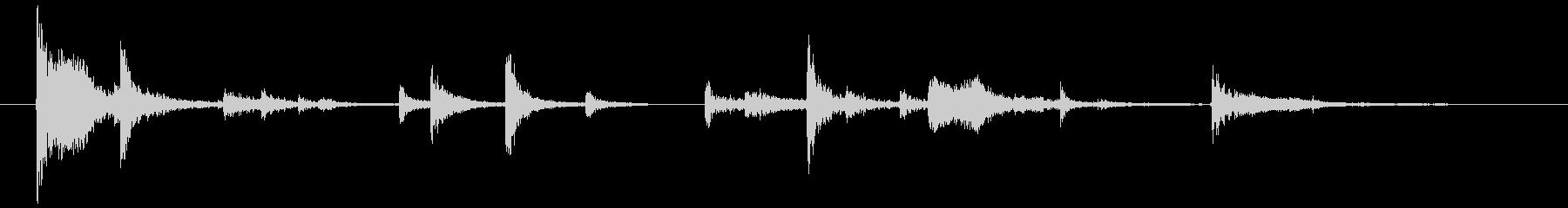 鎖・チェーンの効果音 04の未再生の波形