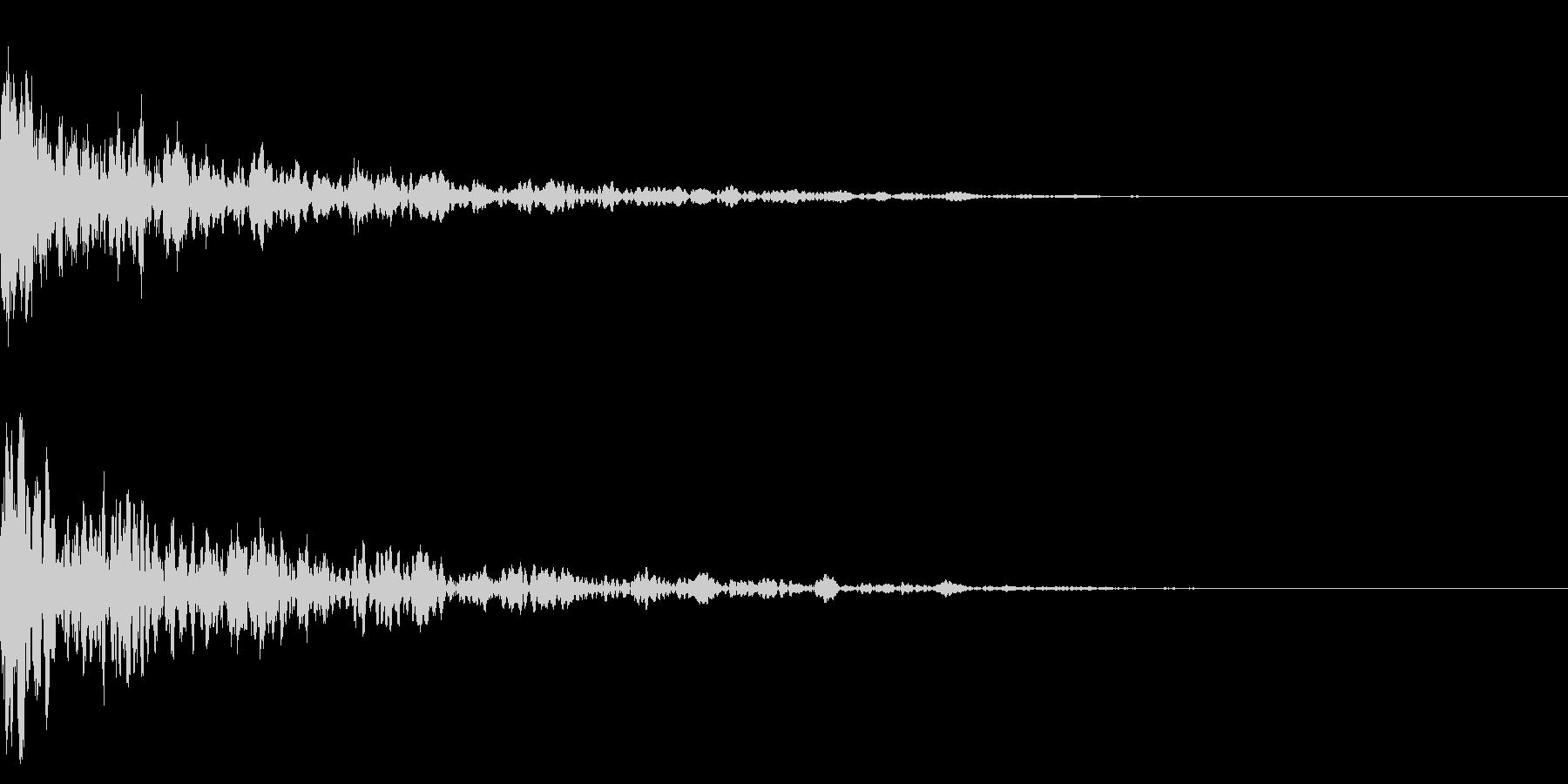ドーン-07-1(インパクト音)の未再生の波形