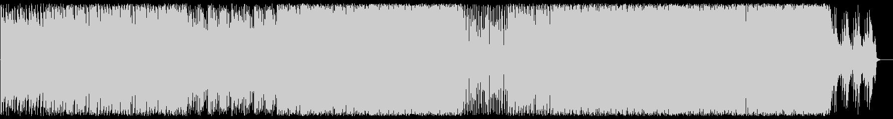 ムーディでオシャレなアコギとピアノBGMの未再生の波形