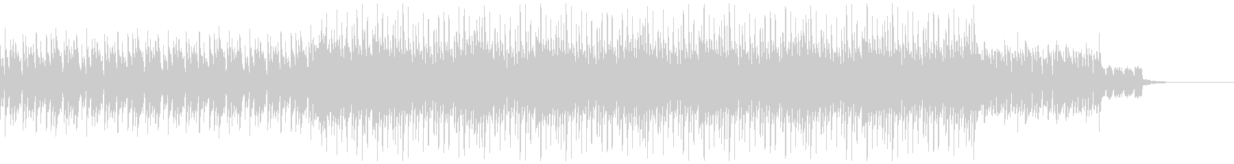 コーポレートテクスチャ―13の未再生の波形