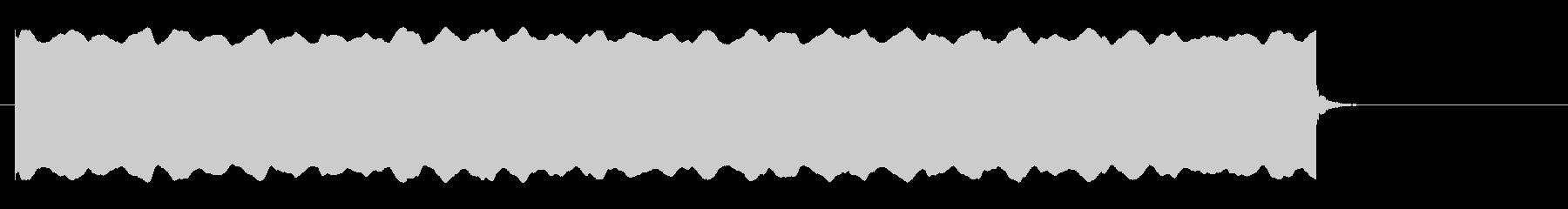 心停止の心電図音-Bの未再生の波形