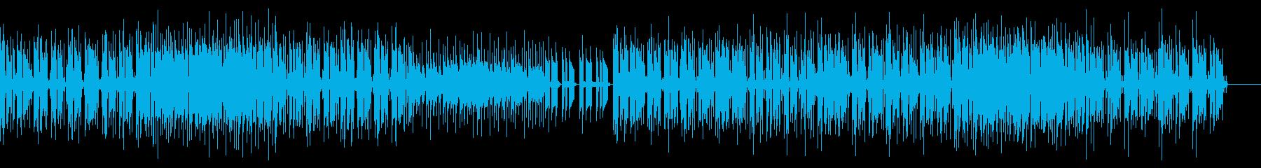 疾走感のあるアメリカンポップスの再生済みの波形